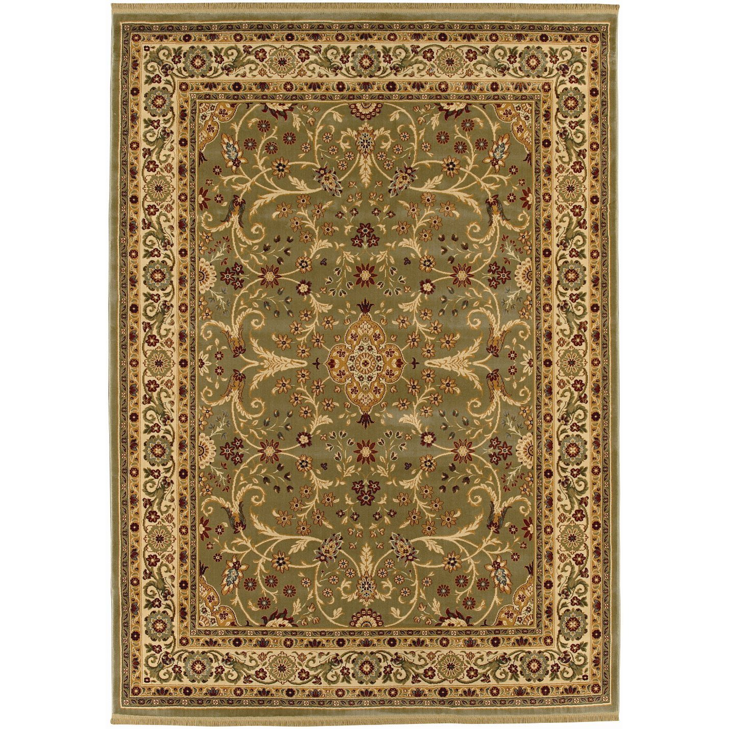 Home Gallery Rug in Garden Fantasy Pattern