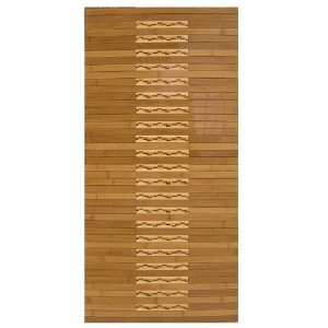 Anji Mountain High Gloss Inlaid Bamboo Kitchen Mat